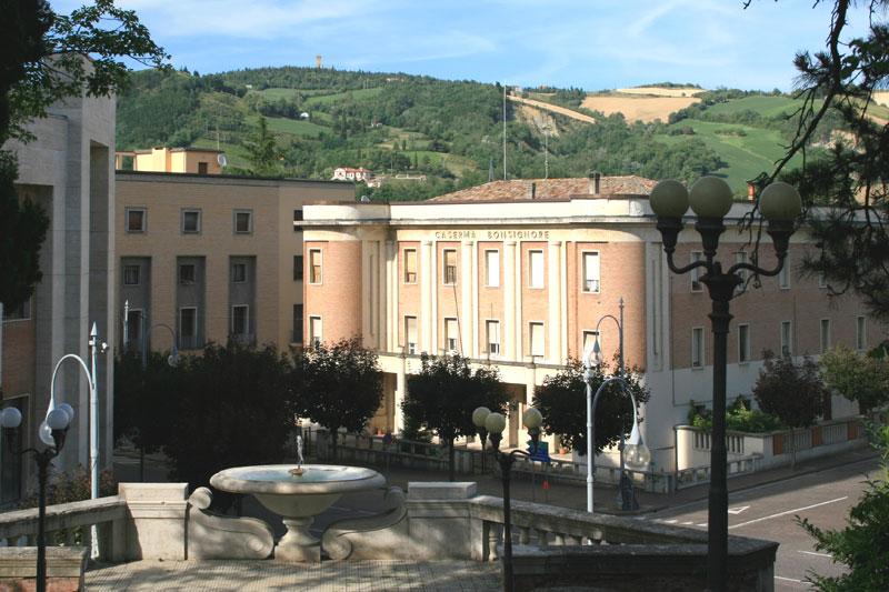 Caserma dei carabinieri museo urbano di predappio for Piano di costruzione dell edificio